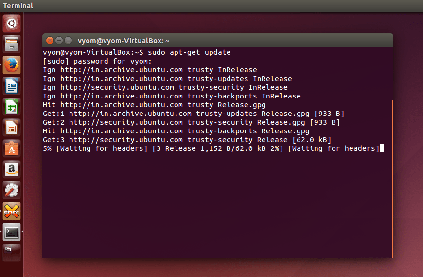 Ubuntu: Updating and Setting up Softwares (4/6)