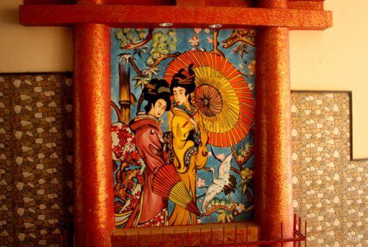 Japanese Painting #6 - Japanese Garden Chandigarh