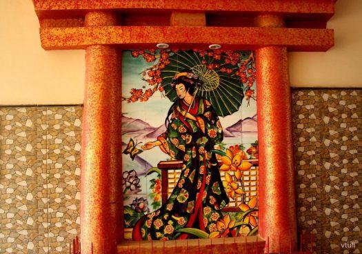 Japanese Painting #5 - Japanese Garden Chandigarh