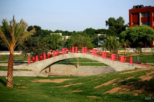 The Arc Bridge (Phase - 2) - Japanese Garden Chandigarh