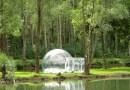 Необычная палатка-пузырь за каких-то $2000.