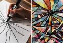 Отец-художник превращает мазню своего сына в абстрактное искусство.