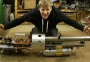 Видео: Новое изобретение Колина Ферза — Термитная Пушка.