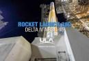 Видео: Запуск ракеты-носителя Дельта IV.
