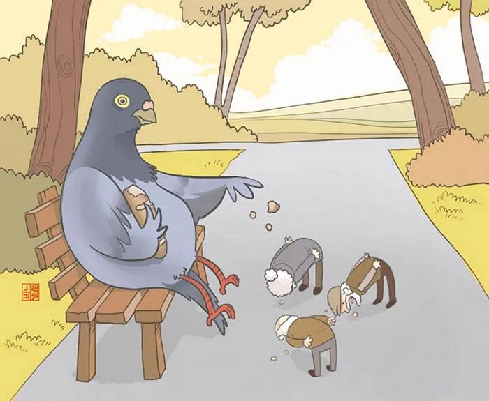 satirical-animal-right-comics-parallel-universe-vinegret (16)