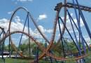 Видео: Безумный аттракцион Valravn в парке развлечений Cedar Point.