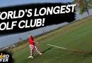 Самая большая клюшка для гольфа: новый рекорд Гиннеса (+Видео).