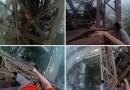 Видео: Парни из России взобрались на Эйфелеву башню не имея абсолютно никакого страхующего снаряжения.