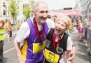 Свою 57-ю годовщину 80-летние супруги отметили пробежав марафон.