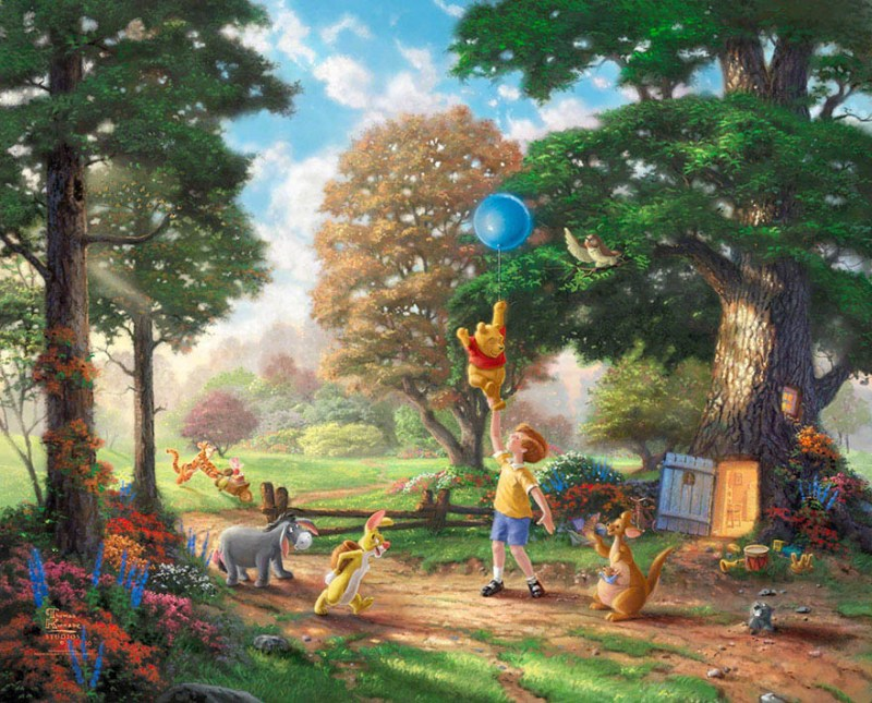 disney-paintings-thomas-kinkade-vinegret (2)