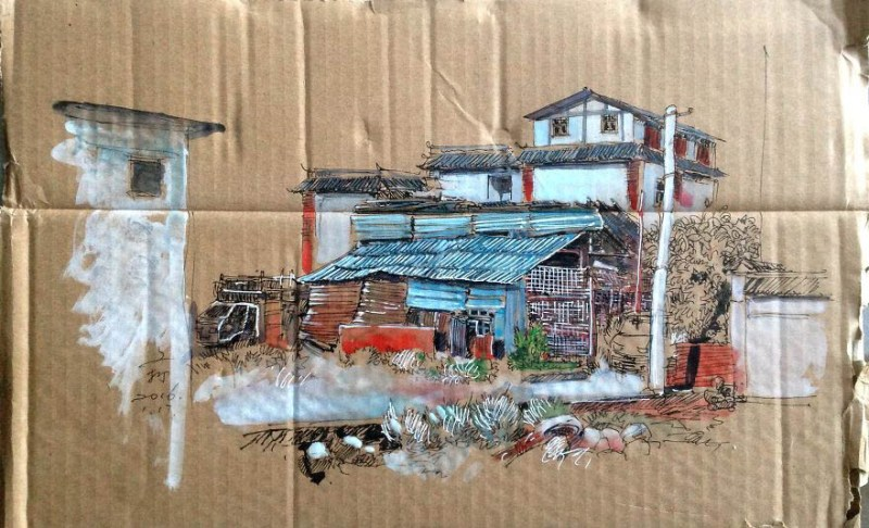 drawing-with-waste-paper-vinegret (18)
