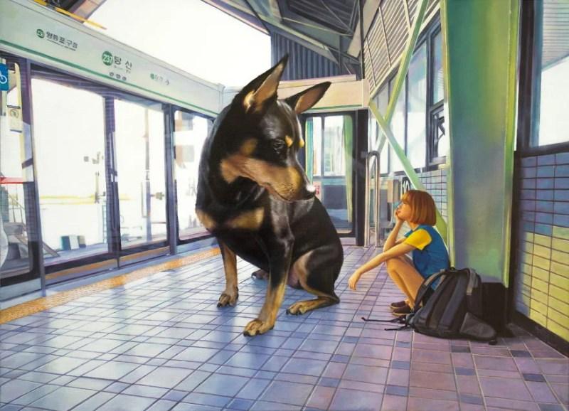 giant-dog-oil-paintings-woo-jae-jeong-vinegret (4)