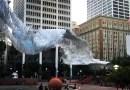 Видео: Необычная кинетическая скульптура в Лос-Анджелесе.