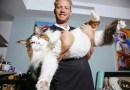 Этот самый большой кот в Нью-Йорке весит почти 13 кг.