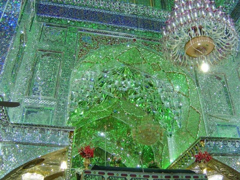 emerald-tomb-ceiling-shah-cheragh-shiraz-iran-vinegret-8