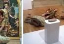 Турист разбил статую 18 века, делая селфи.