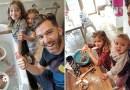 Отец 4 дочерей ведет семейный Instagram без прикрас, фотографии которого берут Интернет штурмом.