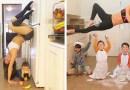 Домохозяйка Дженнифер Гельман  сочетает домашнюю работу, воспитание своих детей и спортивные тренировки.