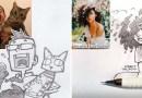 Иллюстратор превращает фотографии случайных людей из Интернета в забавных персонажей аниме.