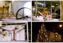 В Риге для зажжения новогодней елки соорудили многошаговую машину Руба Голдберга. [Видео]