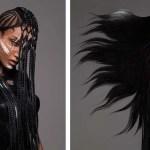 Финалистка конкурса British Hair Awards 2016 и ее прически, пропитанные африканской культурой.