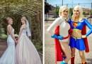 Эти две девушки-косплеерши поженились, и их свадьба была похожа на настоящую сказку в реальной жизни.