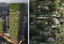 Первый вертикальный лес в Азии будет состоять из более чем 3000 растений…