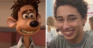 Парень выложил в Интернет фотографии своих друзей, которые очень похожи на персонажей из мультфильма «Смывайся!».