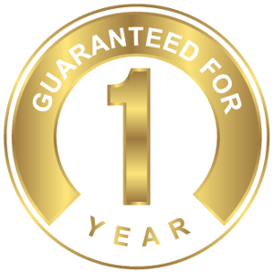 One Year 100% Satisfaction Guarantee