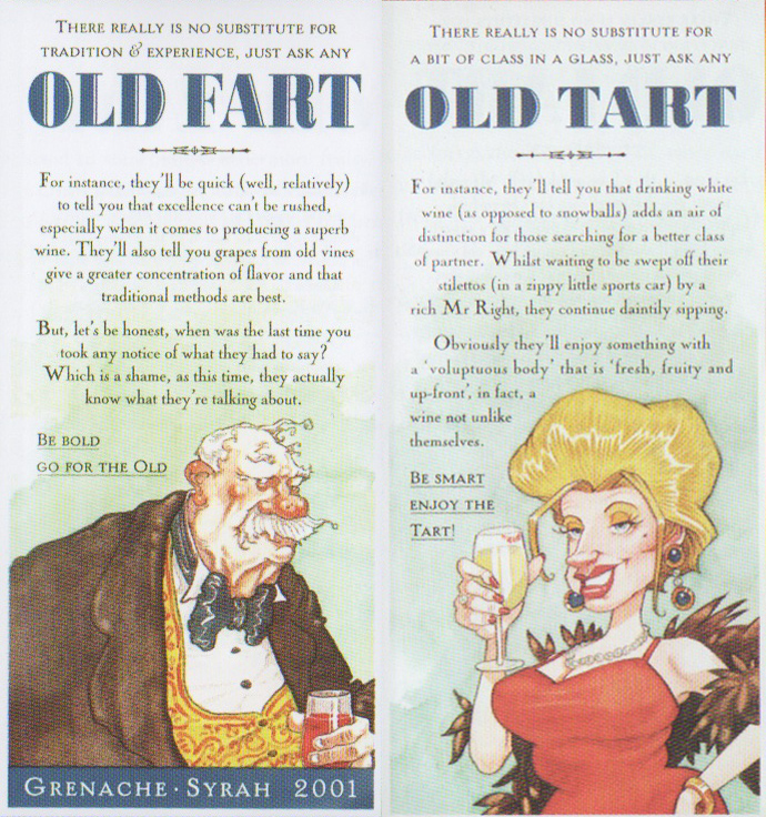 Old Fart And Old Tart