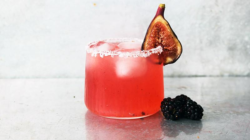 Make this Fig Smash cocktail