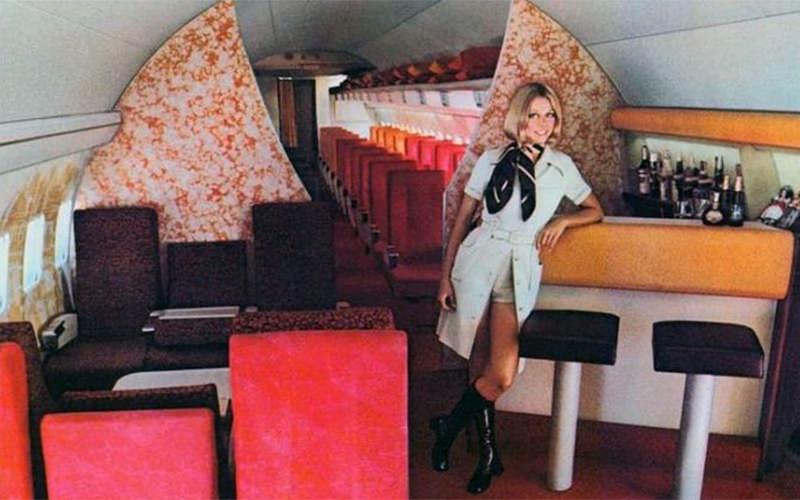Boeing 707 Interior