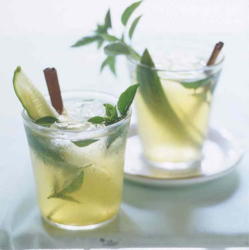 Lillet Basil Cocktail
