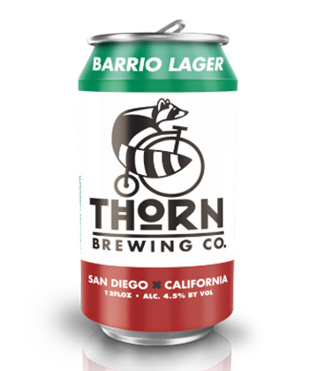 Thorn Barrio Co. Lager is one of the Five best Mexican-Style Lagers to Try