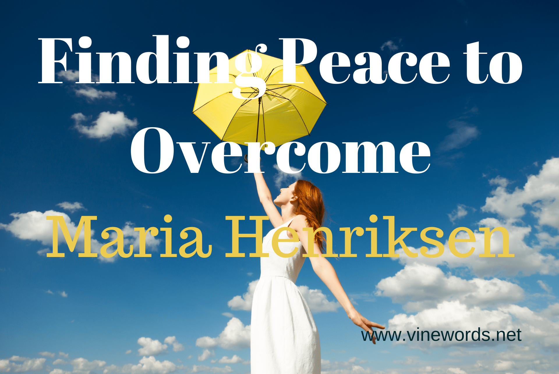 Contributor Maria Henriksen: Finding Peace to Overcome