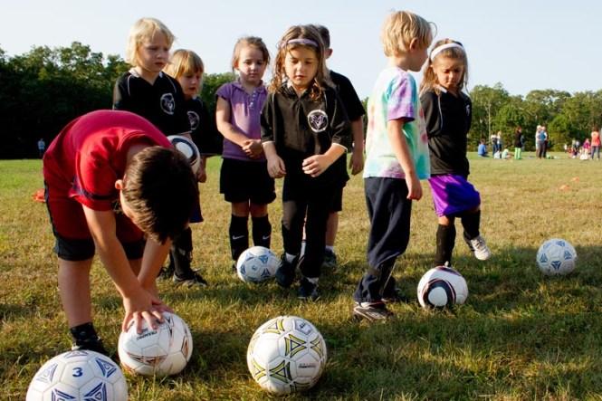Interactive 3v3 Soccer Goal