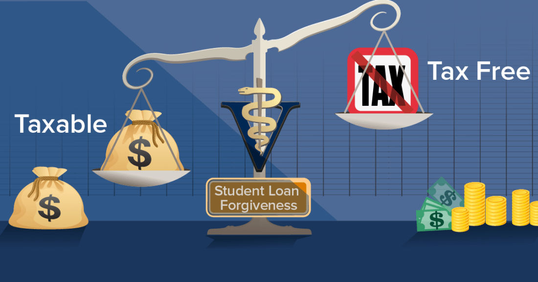 VIN Foundation | Supporting veterinarians to cultivate a healthy animal community | Blog | Student Loan Forgiveness: Taxable or Tax-Free? Either way, It's a Blessing