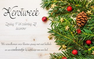 Kerstweek 2017