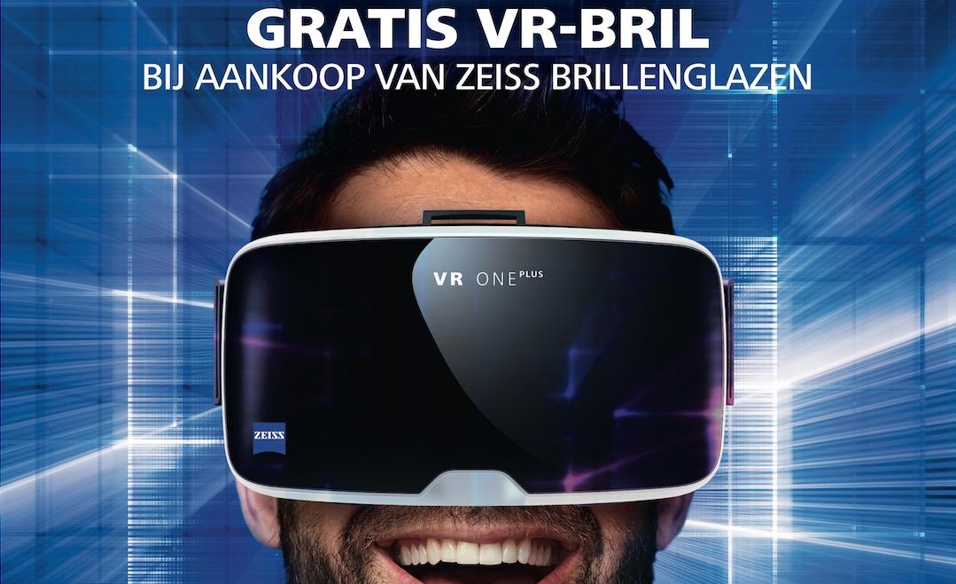 Gratis Zeiss VR One Plus bij aankoop van glazen