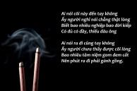 smoking incense