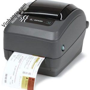 máy in mã vạch zebra gk430t