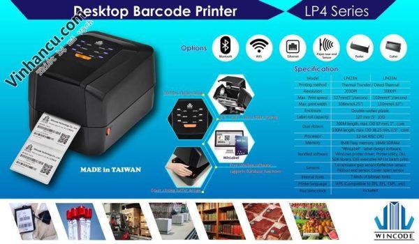 Máy in mã vạch giá rẻ, máy in barcodes giá rẻ