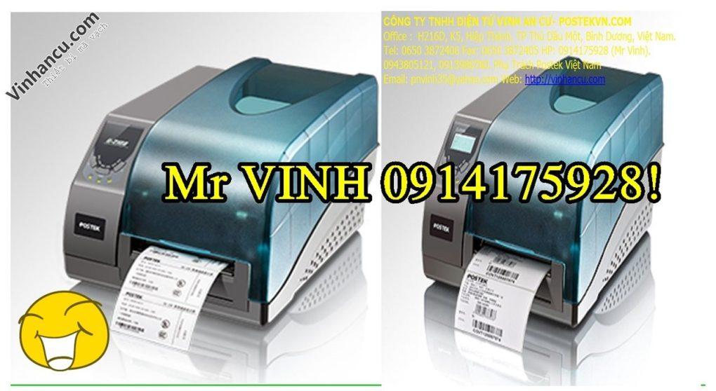máy in mã vạch Postek công nghiệp giá rẻ
