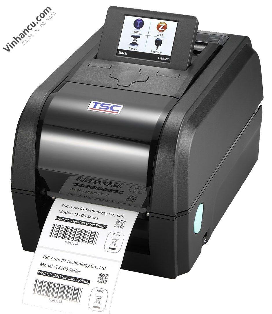 máy in tem nhãn mã vạch giá rẻ tsc tx300