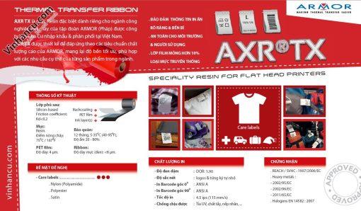 inkanto axr-tx care label resin 110mmx300m giá rẻ - armor resin axrtx