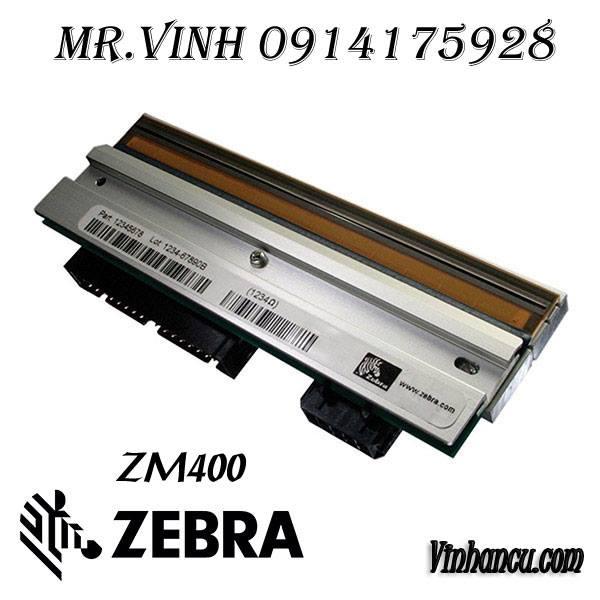 bảng thông tin đầu in zebra
