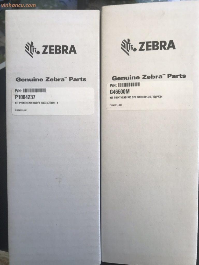 Mua Đầu In Máy In Tem Zebra 170Xi4 300 DPI