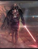 """Darth Vader Redesign for """"Brainstorm"""""""