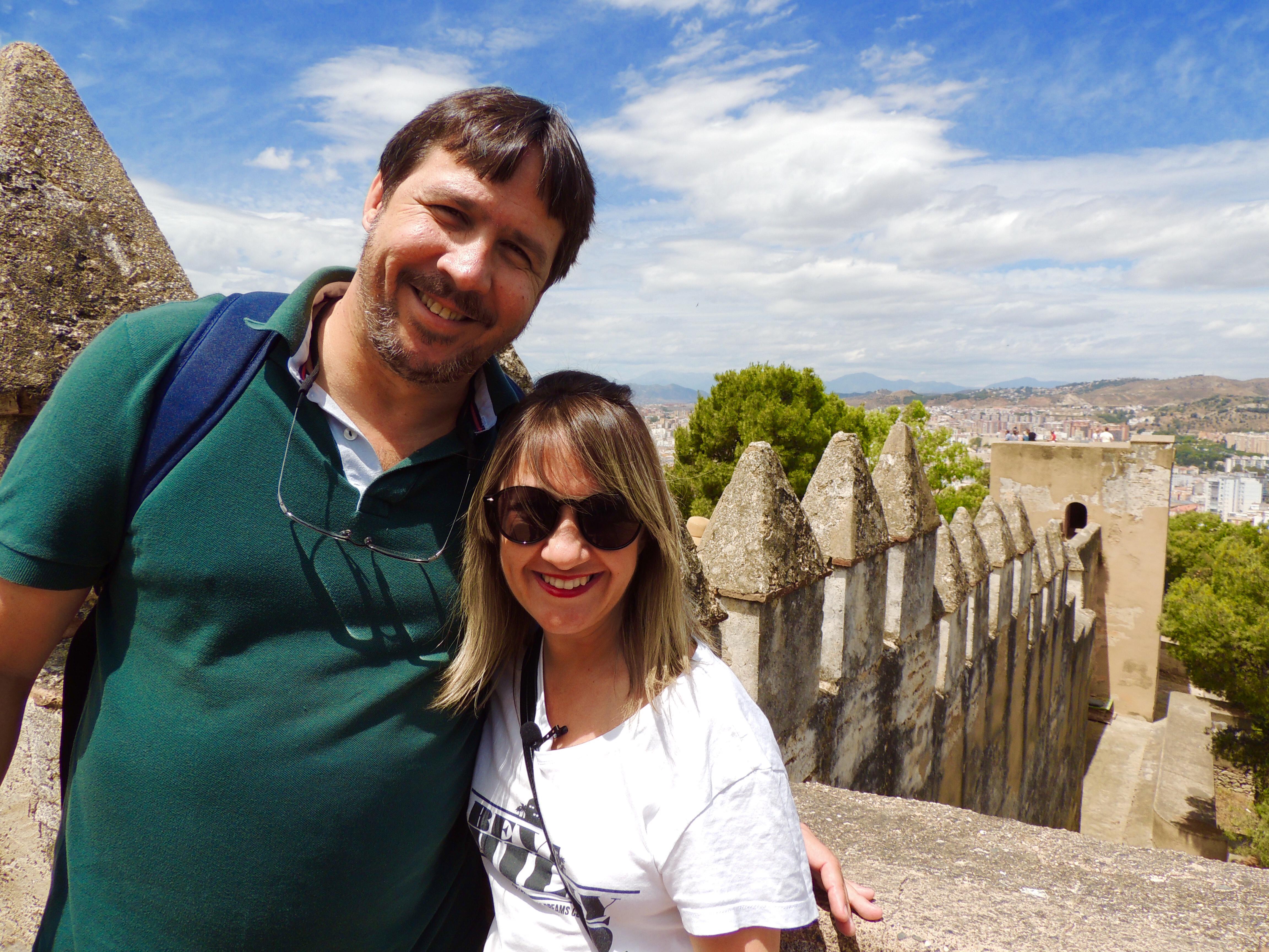 Castelo Gibralfaro e Alcazaba