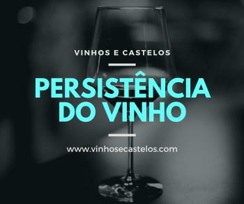Persistência do vinho
